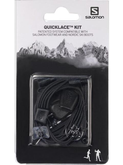 Salomon Quicklace Kit zwart